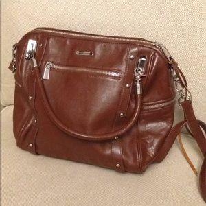 Rebecca Minkoff brown leather purse